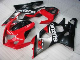 GSX-R 600/750 2004-2005 K4 Injection ABS Fairing For Suzuki - Others - grey/black body with red headlight