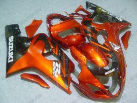 GSX-R 600/750 2004-2005 K4 Injection ABS Fairing For Suzuki - Others - Orange/Black