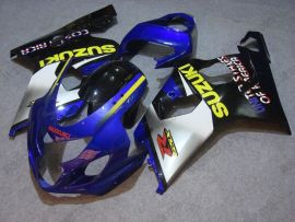 GSX-R 600/750 2004-2005 K4 Injection ABS Fairing For Suzuki - Others - Silver/black body with blue headlight