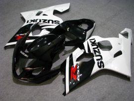 GSX-R 600/750 2004-2005 K4 Injection ABS Fairing For Suzuki - Others - White/Black