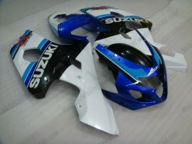 GSX-R 600/750 2004-2005 K4 Injection ABS Fairing For Suzuki - Others - white/black body with blue headlight
