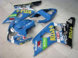 GSX-R 600/750 2004-2005 K4 Injection ABS Fairing For Suzuki - Rizla+ - Blue/Black