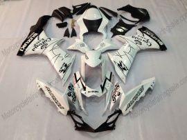 GSX-R 600/750 2011-2015 Injection ABS Fairing For Suzuki - Corona - White/Black