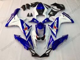 GSX-R 600/750 2011-2015 Injection ABS Fairing For Suzuki - Factory Style - Blue/White