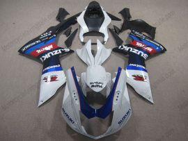 GSX-R 600/750 2011-2015 Injection ABS Fairing For Suzuki - Factory Style - White/Blue/Black