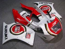 VJ21 ABS Fairing For Suzuki RGV250 - Lucky Strike - Red/White