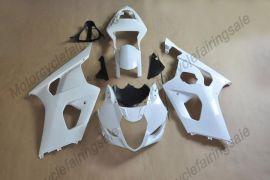 GSX-R 1000 2003-2004 K3 Injection ABS Unpainted Fairing For Suzuki - White