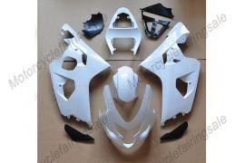 GSX-R 600/750 2004-2005 K4 Injection ABS Unpainted Fairing For Suzuki - White