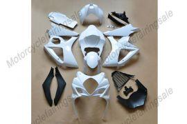 GSX-R 1000 2007-2008 K7 Injection ABS Unpainted Fairing For Suzuki - White