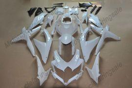 GSX-R 600/750 2008-2010 K8 Injection ABS Unpainted Fairing For Suzuki - White