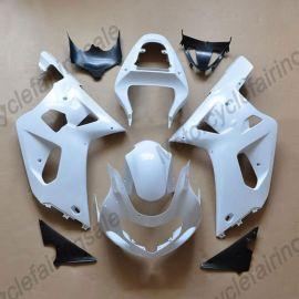 GSX-R 600/750 2001-2003 K1 K2 Injection ABS Unpainted Fairing For Suzuki - White
