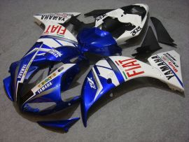YZF-R1 2009-2011 Injection ABS Fairing For Yamaha - FIAT - Blue/White