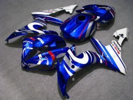 YZF-R1 2004-2006 Injection ABS Fairing For Yamaha - FIAT - Blue/White