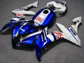 YZF-R1 2004-2006 Injection ABS Fairing For Yamaha - FIAT - White/Blue(without Yamaha logo)