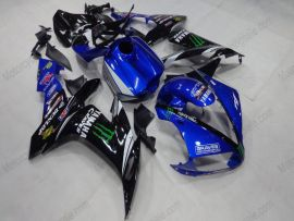YZF-R1 2004-2006 Injection ABS Fairing For Yamaha - Monster - Black/Blue