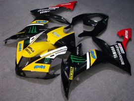 YZF-R1 2004-2006 Injection ABS Fairing For Yamaha - Monster - Black/Yellow