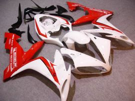 YZF-R1 2004-2006 Injection ABS Fairing For Yamaha - Others - White/Red