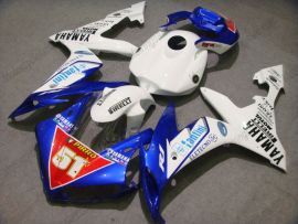 YZF-R1 2004-2006 Injection ABS Fairing For Yamaha - PIRELLI - White/Blue