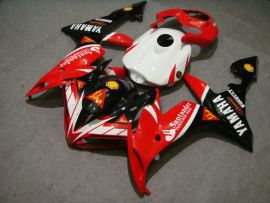 YZF-R1 2004-2006 Injection ABS Fairing For Yamaha - Santander - Red/Black/White