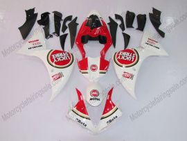 YZF-R1 2009-2011 Injection ABS Fairing For Yamaha - Lucky Strike - White/Red