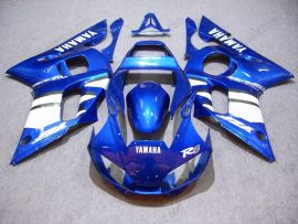 YZF-R6 1998-2002 Injection ABS Fairing For Yamaha - Others - Blue/White