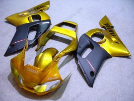 YZF-R6 1998-2002 Injection ABS Fairing For Yamaha - Others - Golden/Black