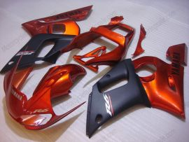 YZF-R6 1998-2002 Injection ABS Fairing For Yamaha - Others - Orange/Black