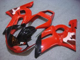 YZF-R6 1998-2002 Injection ABS Fairing For Yamaha - Others - Red/Black