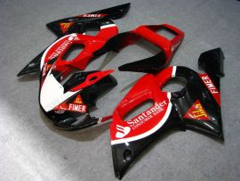 YZF-R6 1998-2002 Injection ABS Fairing For Yamaha - Santander - Red/Black
