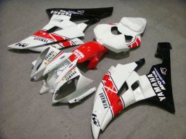 YZF-R6 2006-2007 Injection ABS Fairing For Yamaha - Motul - White/Black/Red
