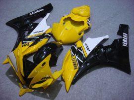 YZF-R6 2006-2007 Injection ABS Fairing For Yamaha - Motul - Yellow/Black/White