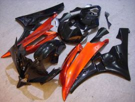 YZF-R6 2006-2007 Injection ABS Fairing For Yamaha - Others - Black/Orange