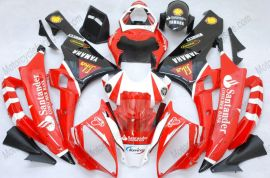 YZF-R6 2006-2007 Injection ABS Fairing For Yamaha - Santander - Red