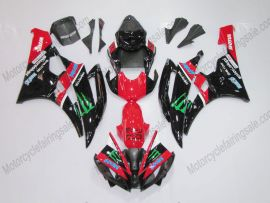 YZF-R6 2006-2007 Injection ABS Fairing For Yamaha - Monster - Red/Black