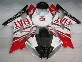 YZF-R6 2008-2014 Injection ABS Fairing For Yamaha - FIAT - Red/White/Black
