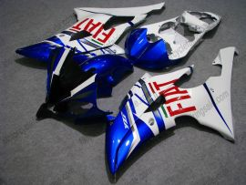 YZF-R6 2008-2014 Injection ABS Fairing For Yamaha - FIAT - White/Blue