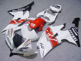 YZF-R6 2008-2014 Injection ABS Fairing For Yamaha - Motul - White/Red/Black