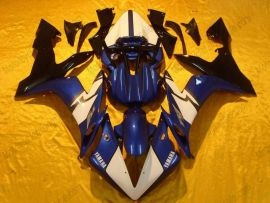 YZF-R1 2004-2006 Injection ABS Race Fairing For Yamaha - Others - Blue/White