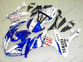 YZF-R1 2004-2006 Injection ABS Fairing For Yamaha - FIAT - White/Blue