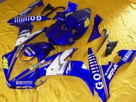 YZF-R1 2004-2006 Injection ABS Fairing For Yamaha - GO!!!!! - Blue/White