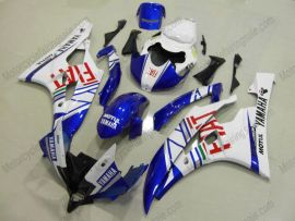 YZF-R6 2006-2007 Injection ABS Fairing For Yamaha - FIAT - White/Blue