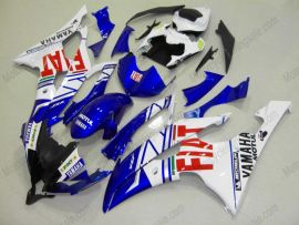 YZF-R6 2008-2014 Injection ABS Fairing For Yamaha - FIAT - Blue/White