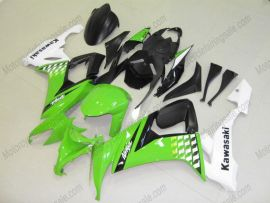 NINJA ZX10R 2008-2010 Injection ABS Fairing For Kawasaki - Others - Green/Black/White