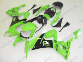 NINJA ZX10R 2008-2010 Injection ABS Fairing For Kawasaki - Monster - Green/Black