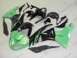 NINJA ZX6R 2009-2012 Injection ABS Fairing For Kawasaki - Others - Green/Black