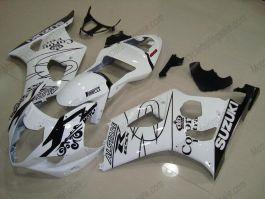 GSX-R 1000 2003-2004 K3 Injection ABS Fairing For Suzuki - Corona - White/Black