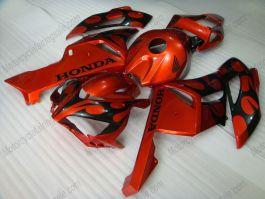 CBR1000RR 2004-2005 Injection ABS Fairing For Honda - Flame - Black Flame(Orange)