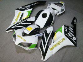 CBR1000RR 2004-2005 Injection ABS Fairing For Honda - HANN Spree - White/Black