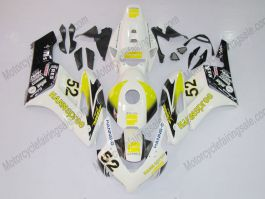 CBR1000RR 2004-2005 Injection ABS Fairing For Honda - HANN Spree - White/Black/Yellow