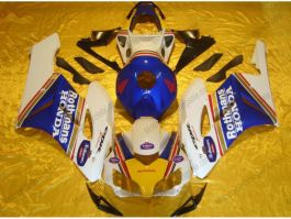 CBR1000RR 2004-2005 Injection ABS Fairing For Honda - Rothmans - White/Blue
